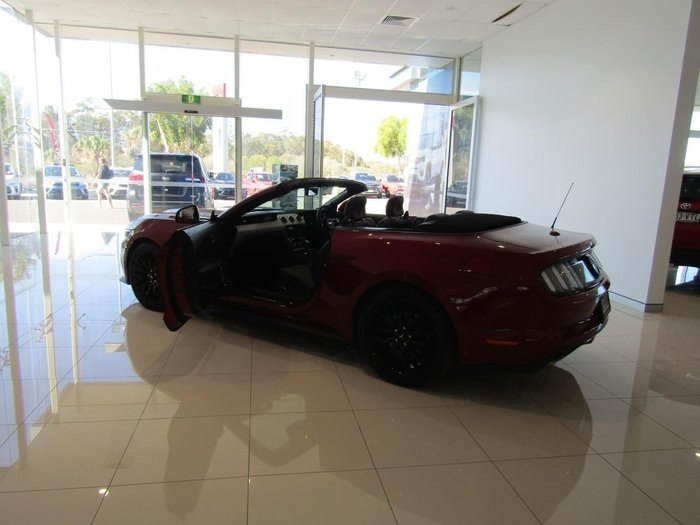 2016 Ford Mustang GT FM 2017MY Ruby Red