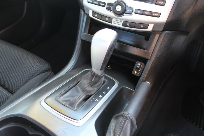 2009 Ford Falcon Ute XR6 FG White