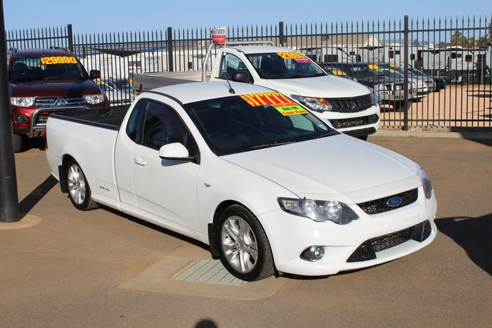 2009 Ford Falcon Ute XR6 FG White