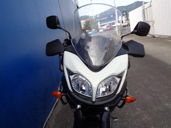 2013 Suzuki DL650A V-STROM WHITE