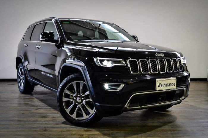2018 Jeep Grand Cherokee Limited WK MY18 4X4 Dual Range Black