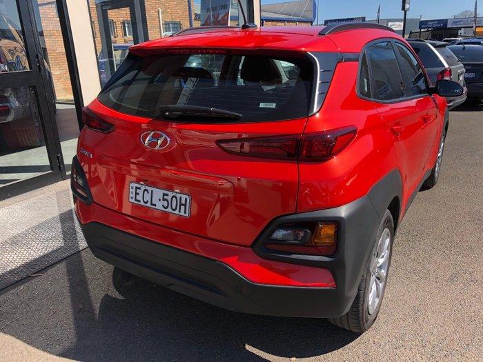 2018 Hyundai Kona Go OS.2 MY19 Orange