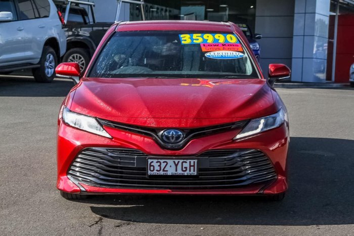 2018 Toyota Camry Ascent AXVH71R Red