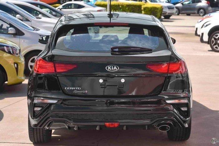 2019 Kia Cerato Hatch Sport Plus with Safety Pack BD Aurora Black