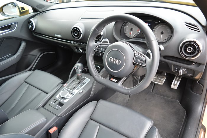 2014 Audi S3 8V Four Wheel Drive Yellow