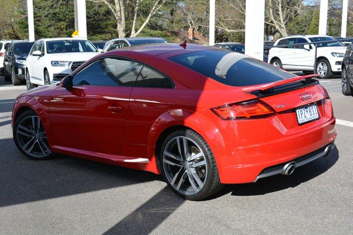 2015 Audi TT S Line FV MY16 Red
