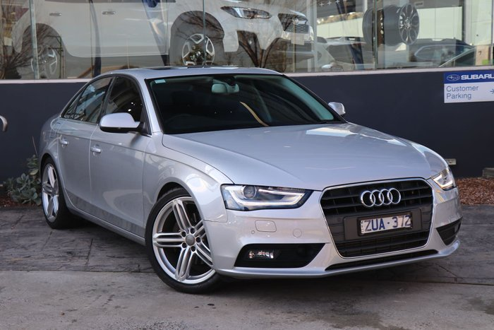 2013 Audi A4 B8 MY13 Four Wheel Drive Silver