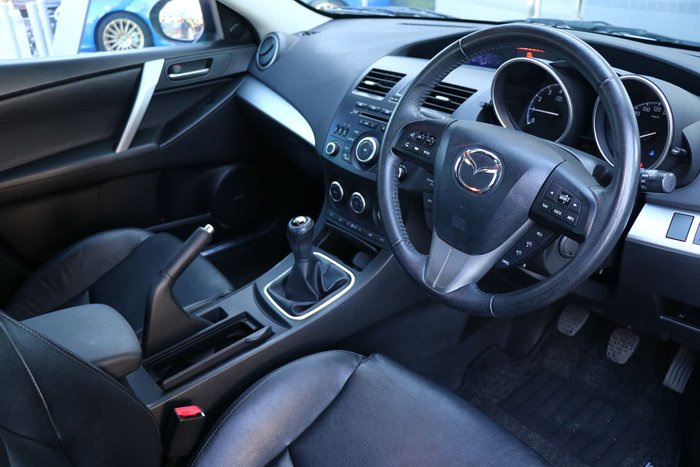 2013 Mazda 3 SP25 BL Series 2 MY13 Silver