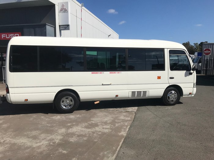 2012 Toyota COASTER COASTER WHEELCHAIR BUS WHITE