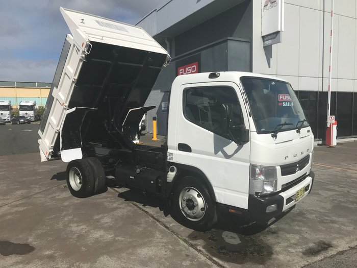 2012 Mitsubishi Canter 715 Wide CANTER 715 FACTORY TIPPER WHITE