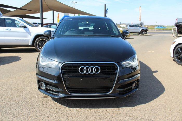 2012 Audi A1 Sport 8X MY12 Black