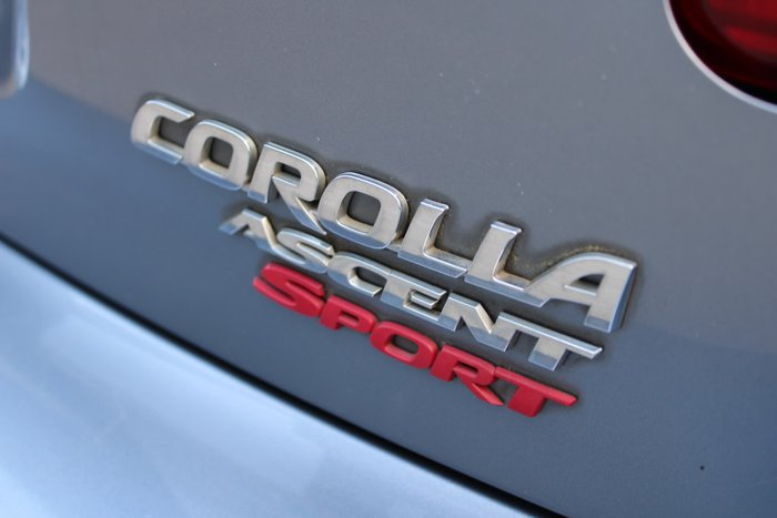 2011 Toyota Corolla Ascent Sport ZRE152R MY11 Blue