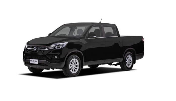 2019 SsangYong Musso Ultimate Plus Q201 MY20 4X4 Dual Range Black