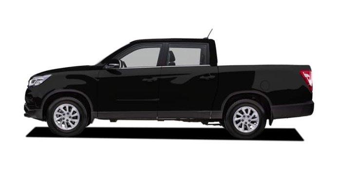 2019 SsangYong Musso Ultimate Plus Q201 MY20 4X4 Dual Range Black