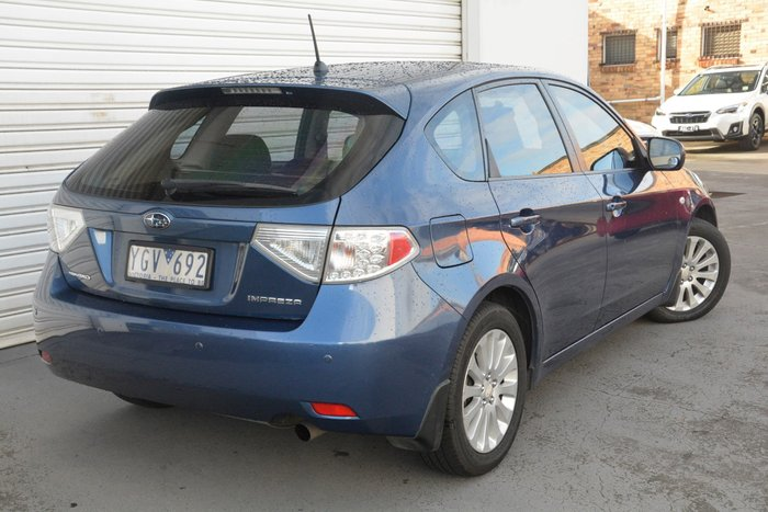 2011 Subaru Impreza R G3 MY11 Four Wheel Drive Blue
