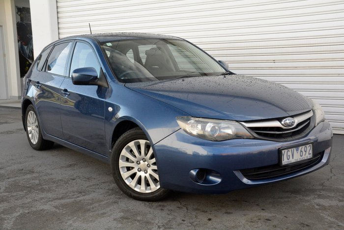 2011 Subaru Impreza R G3 MY11 Four Wheel Drive (Blue) for