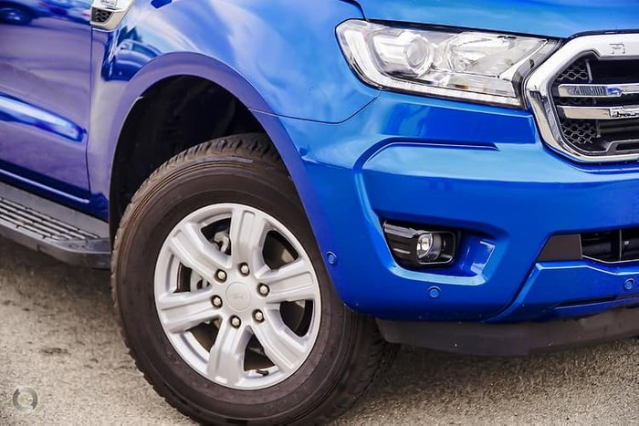 2019 Ford Ranger XLT PX MkIII MY19.75 4X4 Dual Range Blue