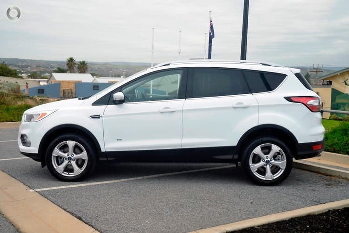 2019 Ford Escape Trend ZG MY19.25 4X4 On Demand White
