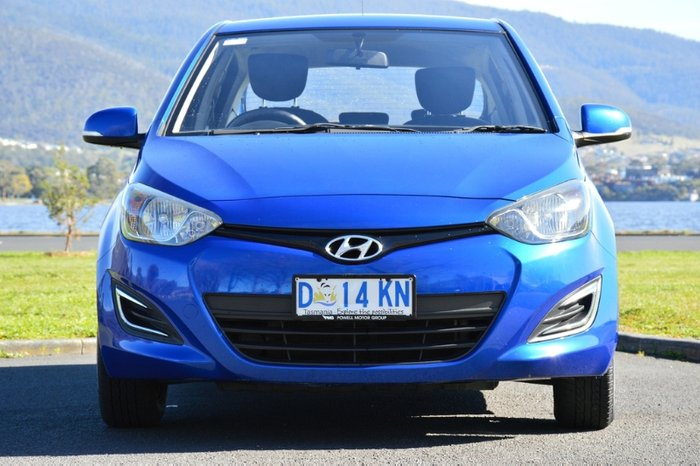 2013 Hyundai i20 Active PB MY14 BLUE
