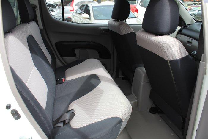 2007 Mitsubishi Triton GLX ML MY07 4X4 Dual Range White