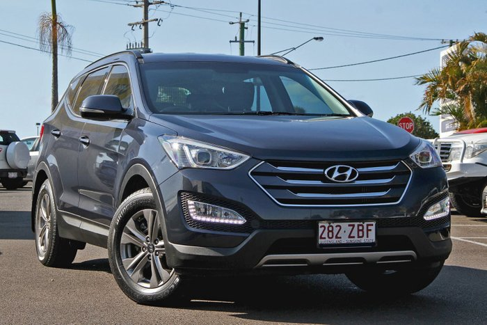 2015 Hyundai Santa Fe Active DM2 MY15 4X4 On Demand Blue