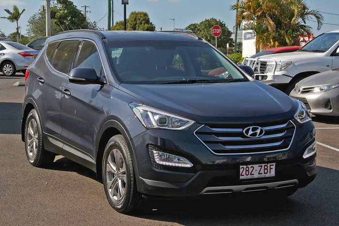 2015 Hyundai Santa Fe Active DM2 MY15 4X4 On Demand Blue