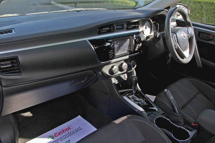 2014 Toyota Corolla Ascent ZRE172R Silver
