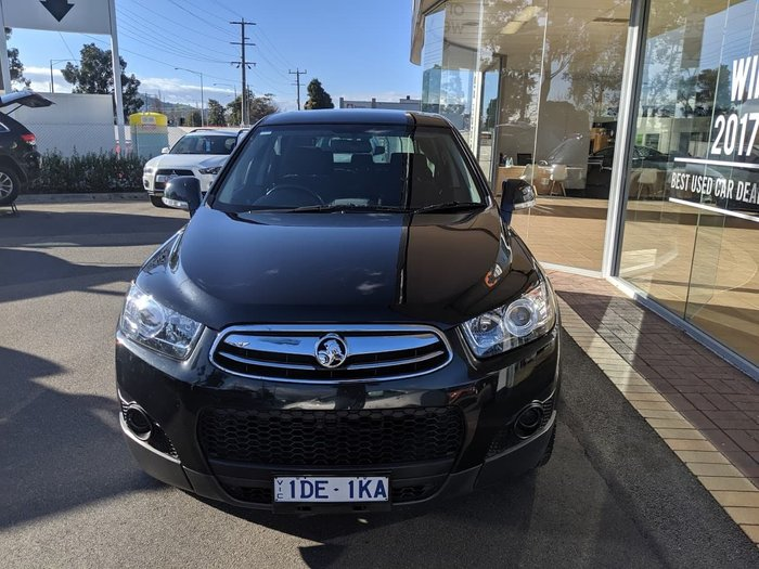 2013 Holden Captiva 7 SX CG Series II MY12 Black