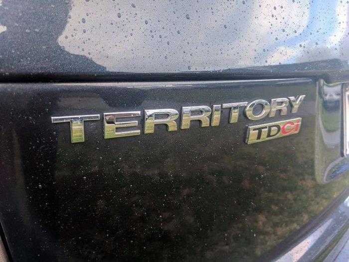2011 Ford Territory Titanium SZ Four Wheel Drive Blue
