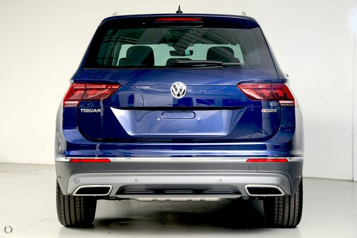 2019 Volkswagen Tiguan 162TSI Highline 5N MY19.5 Four Wheel Drive Blue