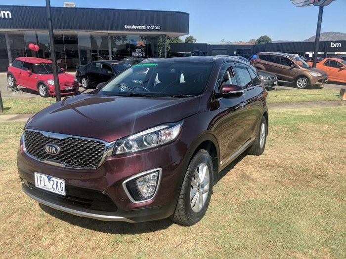 2015 Kia Sorento Si UM MY16 4X4 On Demand Red