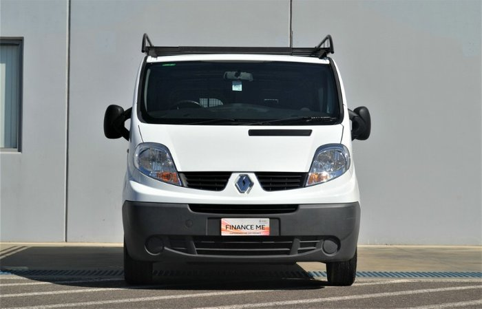 2014 Renault Trafic LOW ROOF LONG WHEELB X83 Phase 3 WHITE