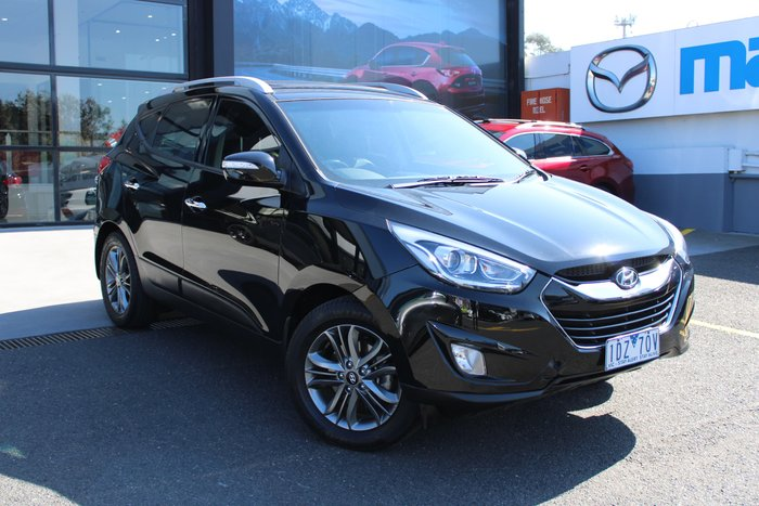 2015 Hyundai ix35 Elite Series II MY15 4X4 On Demand Black