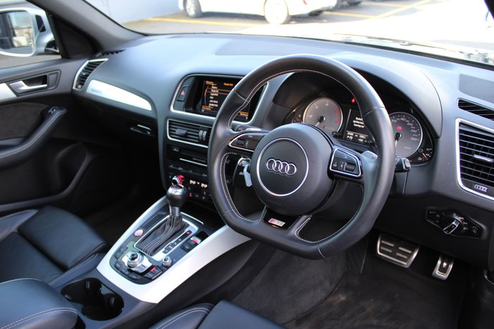 2015 Audi SQ5 TDI 8R MY16 Four Wheel Drive Black