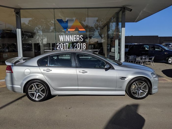 2012 Holden Commodore SV6 VE Series II MY12 Silver