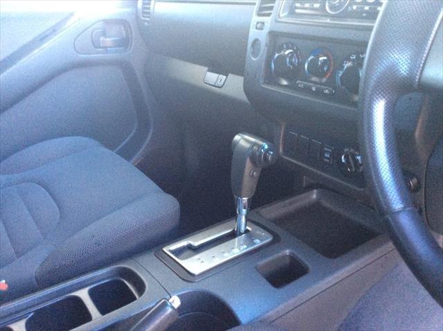 2009 Nissan Navara RX D40 4X4 ARCTIC WHITE