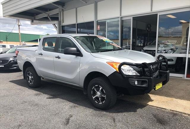 2015 Mazda BT-50 XT UP 4X4 Dual Range HIGHLIGHT SILVER