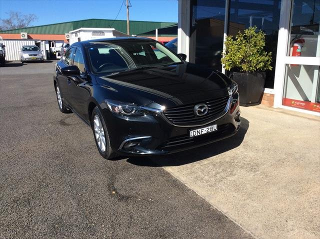 2015 Mazda 6 Touring GJ Series 2 JET BLACK