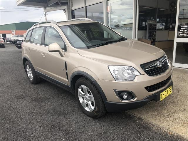 2012 Holden Captiva 5 CG Series II 4X4 On Demand DESERT SAND