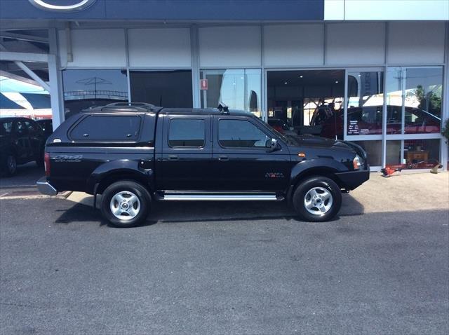 2012 Nissan Navara ST-R D22 S5 4X4 BLACK