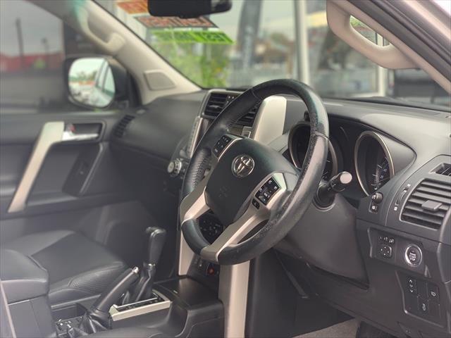 2012 Toyota Landcruiser Prado VX KDJ150R 4X4 Constant SILVER