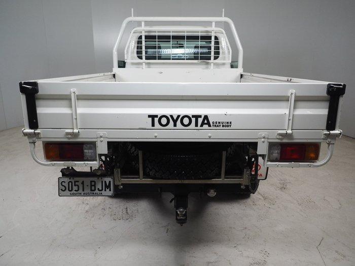 2016 Toyota Landcruiser Workmate VDJ79R 4X4 Dual Range White