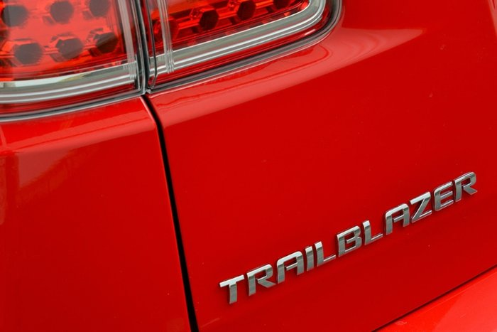 2018 Holden Trailblazer LTZ RG MY18 4X4 Dual Range ABSOLUTE RED