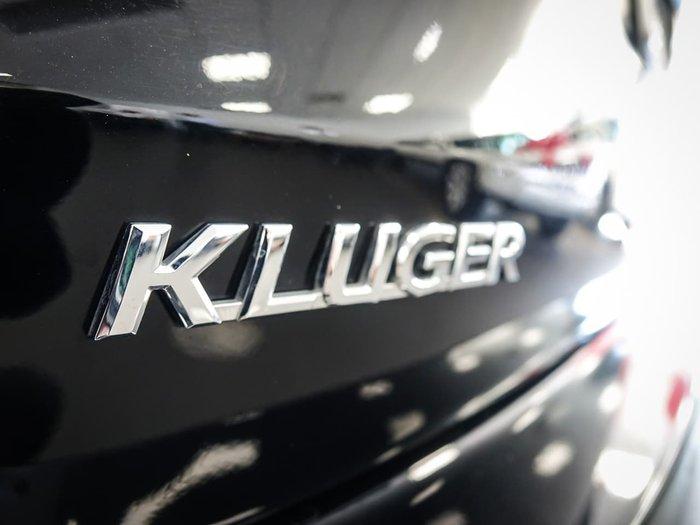 2018 Toyota Kluger GXL GSU55R Four Wheel Drive Black