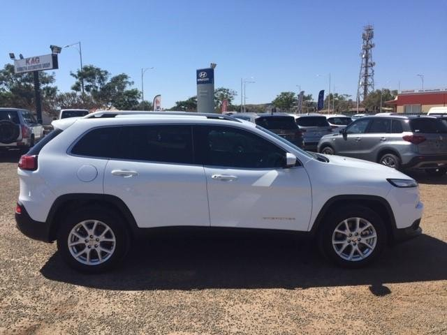 2015 JEEP CHEROKEE LONGITUDE (4x4) KL MY15 White