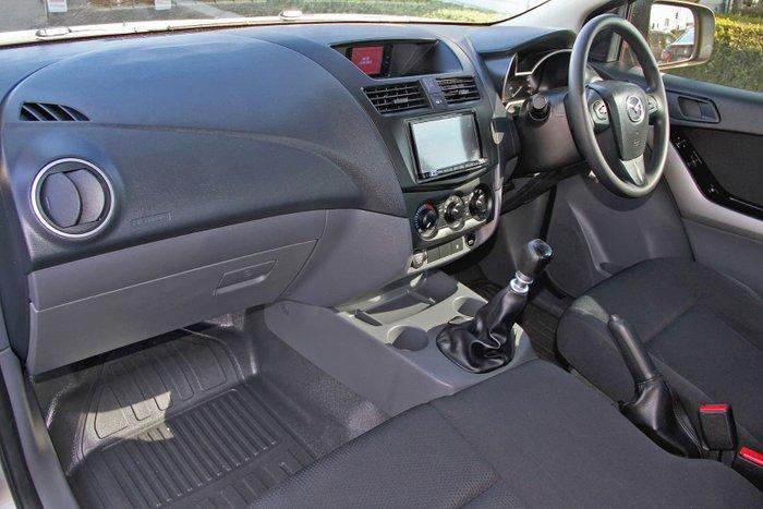 2018 Mazda BT-50 XT UR Silver