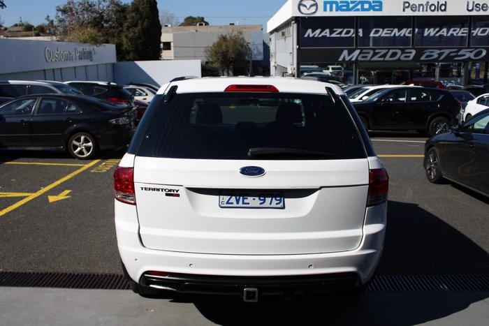 2013 Ford Territory TS SZ White