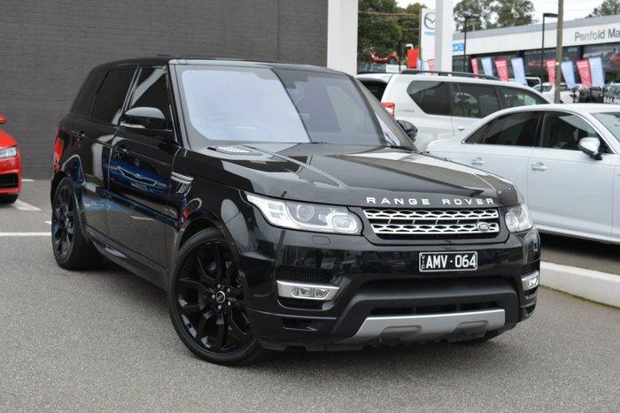 2016 Land Rover Range Rover Sport SDV8 HSE L494 MY16 4X4 Dual Range Black