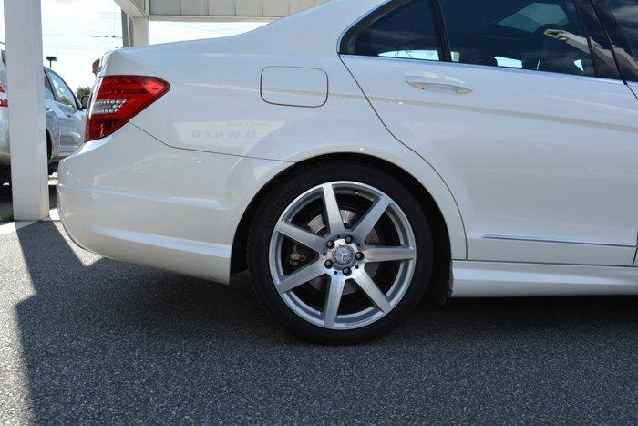 2012 Mercedes-Benz C250 CDI BlueEFFICIENCY Elegance W204 MY13 White