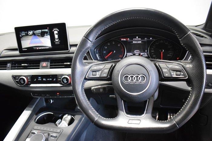 2016 Audi A4 sport B9 MY16 Four Wheel Drive Grey